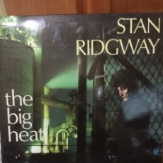 Disques de vinyle: STAN RIDGWAY-THE BIG HEAT-1986-NUEVO!!. Lote 57477158