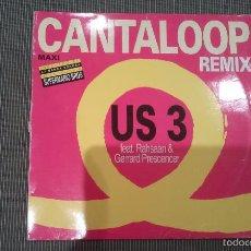 Discos de vinilo: US 3 -CANTALOOP REMIX.SUPERMARIO BROS BSO.MAXI. Lote 57477655