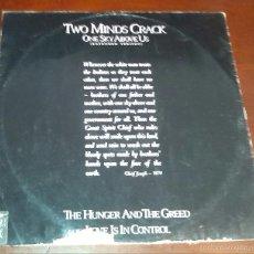 Discos de vinilo: TWO MINDS CRACK - ONE SKY ABOVE US - MAXI SINGLE.12. Lote 57478255