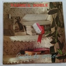 Discos de vinilo: VAINICA DOBLE - CARTAS DE AMOR / CHAPARRON DEL MES DE ABRIL (1981). Lote 57478839