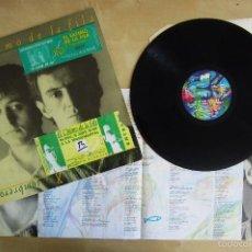 Discos de vinilo: EL ULTIMO DE LA FILA - COMO LA CABEZA AL SOMBRERO - VINILO ORIGINAL 1988 PRIMERA EDICION PDI. Lote 57479154
