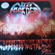 Discos de vinilo: LIZZY BORDEN THE MURDERESS METAL ROAD LÄÄZ ROCKIT.MERCYFUL FATE.KING DIAMOND,TESTAMENT,CIRITH UNGOL.. Lote 57479766