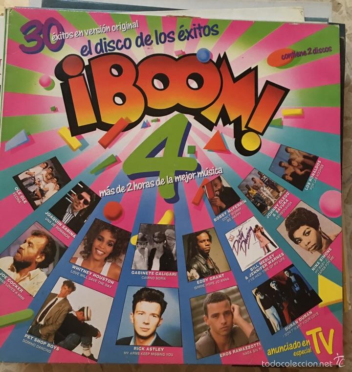 BOOM 4 DISCO DE VINILO (Música - Discos - LP Vinilo - Otros estilos)