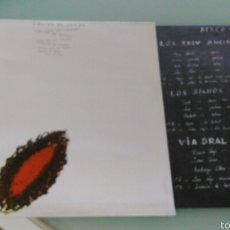 Discos de vinilo: O PULSO DO TEMPO DOBLE LP CARPETA DOBLE.1988.GRUPOS GALEGOS. Lote 57481316