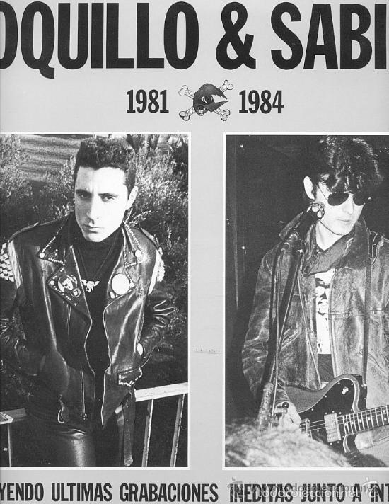 LOQUILLO & SABINO / 1981-1984 / LP 33 RPM / EDITADO POR 3 CIPRESES (Música - Discos - LP Vinilo - Grupos Españoles de los 70 y 80)