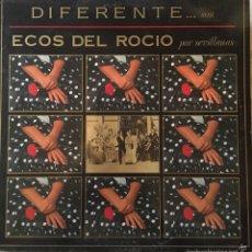 Discos de vinilo: ECOS DEL ROCÍO DIFERENTE. Lote 57488914