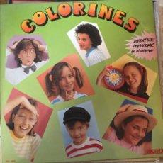 Discos de vinilo: GRUPO INFANTIL COLORINES. Lote 57489707
