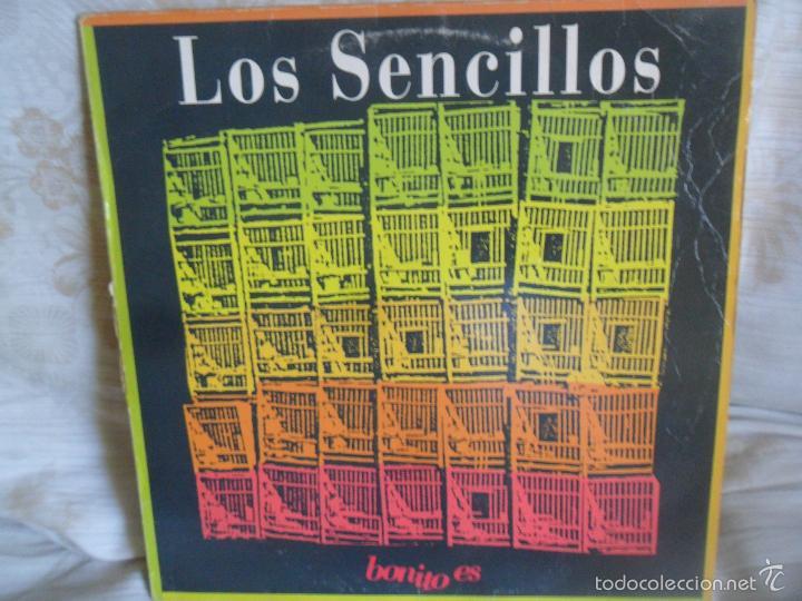 LOS SENCILLOS - BONITO ES/ BONITO ES/ BAJO LAS RUEDAS - MAXISINGLE 1992 ARIOLA (Música - Discos de Vinilo - Maxi Singles - Grupos Españoles de los 90 a la actualidad)