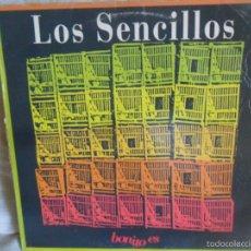 Discos de vinilo: LOS SENCILLOS - BONITO ES/ BONITO ES/ BAJO LAS RUEDAS - MAXISINGLE 1992 ARIOLA. Lote 57491024
