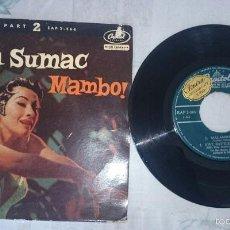 YMA SUMAC: Malambo no.1+3 (Capitol Records 1958)