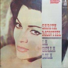 Discos de vinilo: SARA SARITA MONTIEL LA BELLA LOLA LP DE VINILO EDITADO EN PUERTO RICO RICO-VOX 1962 NUEVO PRECINTADO. Lote 130483168