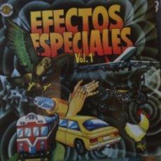 Discos de vinilo: EFECTOS DE SONIDO ESPECIALES EN VINILO. Lote 57495152