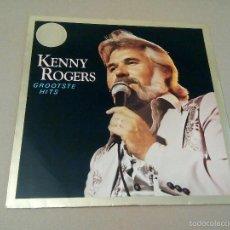 Discos de vinilo: KENNY ROGERS - GROOTSTE HITS (LP LIBERTY IA 062-83003). Lote 57495561