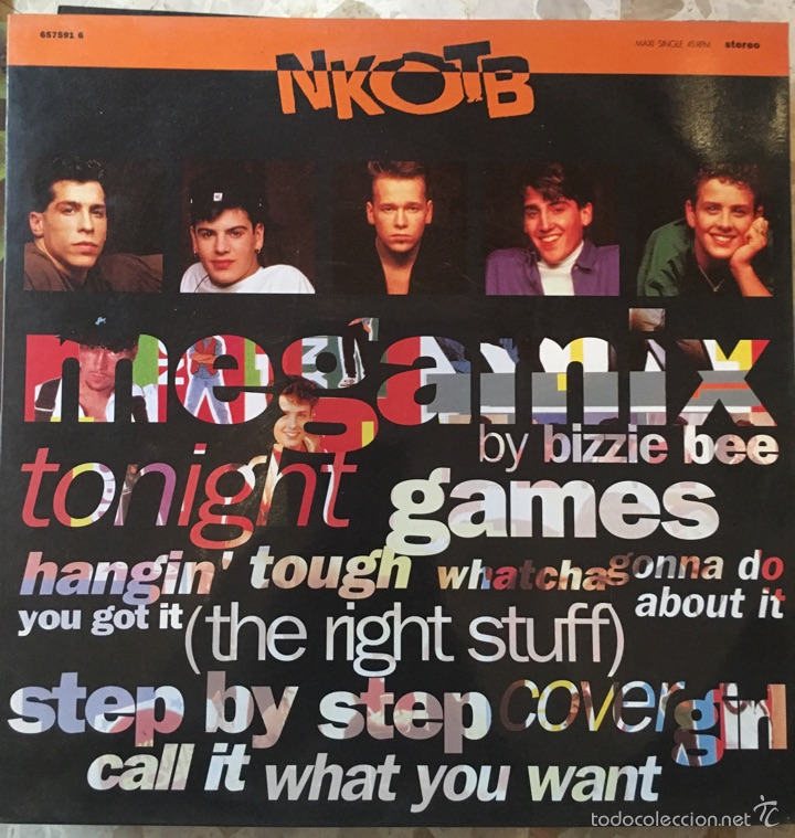 NKOTB (Música - Discos de Vinilo - Maxi Singles - Otros estilos)