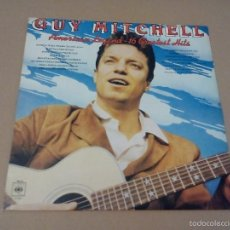 Discos de vinilo: GUY MITCHELL - AMERICAN LEGEND - 16 GREATEST HITS (LP 1977, CBS 31 459). Lote 57495665