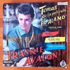 Discos de vinilo: FRANKIE AVALON - EL ÁLAMO - 1961. Lote 57495910