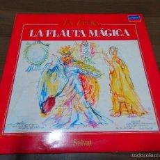 Discos de vinil: LA FLAUTA MAGICA LA OPERA 5 SALVAT LP CLASICO VNILO BB. Lote 57497556
