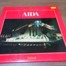 Discos de vinil: AIDA LA OPERA 4 SALVAT LP VINILO CLASICA BB. Lote 57497854