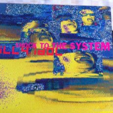 Discos de vinilo: 12 MAXI-BILLY IDOL-SHOCK TO THE SYSTEM. Lote 126260396