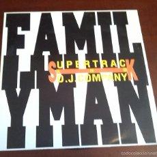 Discos de vinilo: SUPERTRACK & DJ. COMPANY - FAMILY MAN - MAXI SINGLE.12. Lote 57499782