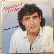 Discos de vinilo: MANUEL ORTA BOHEMIO. Lote 57500373