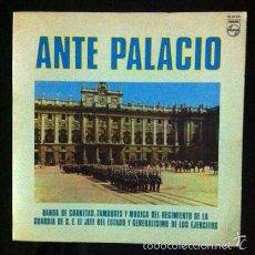 Discos de vinilo: ANTE PALACIO - REGIMIENTO DE LA GUARDIA DE FRANCO - 1970. Lote 57500420