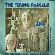 Discos de vinilo: DISCO SINGLE VINILO *THE YOUNG RASCALS* -1967-. Lote 57502927
