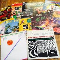 Discos de vinilo: LOTE 11 LP DANCE Y PERCUSION (LPR9-2). Lote 121833020