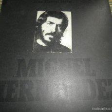 Discos de vinilo: JOAN MANUEL SERRAT - MIGUEL HERNANDEZ LP - ORIGINAL ESPAÑOL - NOVOLA 1972 - PORTADA DIFERENTE -. Lote 57514670