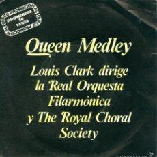 Discos de vinilo: UXV LOUIS CLARK DIRIGE REAL ORQUESTA FILARMONICA Y ROYAL CHORAL SOCIETY MERCURY QUEEN MEDLEY PROMO. Lote 57517006