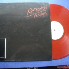 Discos de vinilo: RAMONCIN RAMONCIN LP SPAIN EDICION ESPECIAL COLOR ROJO 1988 PDELUXE. Lote 57518269