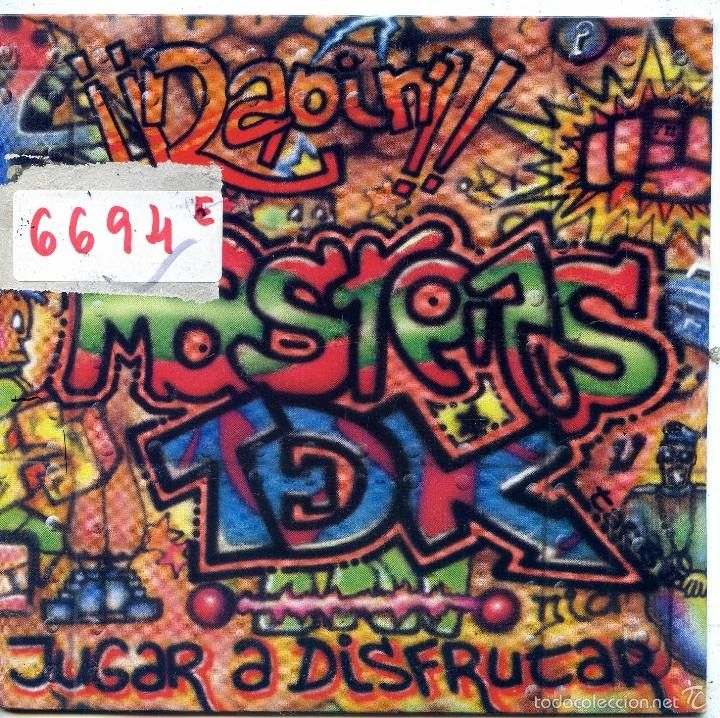 MASTERS TDK / JUGAR A DISFRUTAR (RADIO MIX) / BAJO MIX (SINGLE PROMO 1989) (Música - Discos - Singles Vinilo - Rap / Hip Hop)
