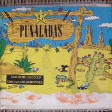 Discos de vinilo: 27 PUÑALADAS Nº 4 + EP - AMOR DE MADRE, AGENTES SECRETOS, PARAPLÉJICO Y LOS MONOS, NUMERUS KLAUSUS. Lote 57524341
