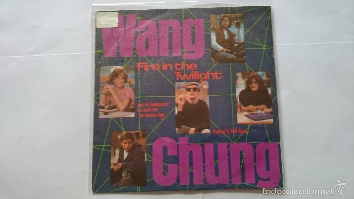 WANG CHUNG - FIRE IN THE TWILIGHT // KEITH FORSEY - THE REGGAE (BSO/OST 'THE BREAKFAST CLUB') (1985) (Música - Discos - Singles Vinilo - Bandas Sonoras y Actores)