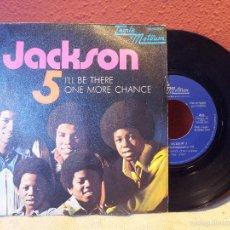 Discos de vinilo: [MICHAEL] JACKSON 5: I'LL BE THERE / ONE MORE CHANCE (TAMLA MOTOWN, SPAIN, 1970). SINGLE VINILO.. Lote 57533970