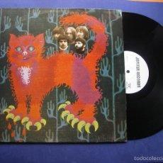 Discos de vinilo: PUSSY MORGAN BLUE TOWN LP ITALIA 1992 PDELUXE. Lote 57535258