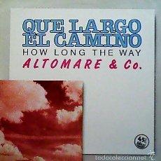 Discos de vinilo: ALTOMARE & CO. - HOW LONG THE WAY VICTORIA. Lote 57536077