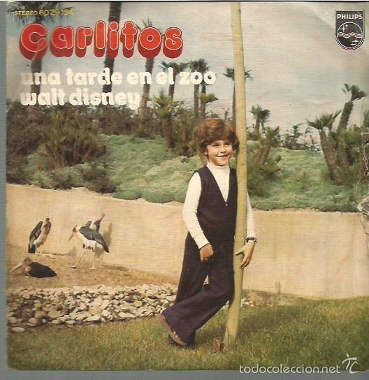 CARLITOS SINGLE SELLO PHILIPS EDITADO EN ESPAÑA AÑO 1972 (Música - Discos - Singles Vinilo - Música Infantil)