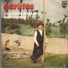 Discos de vinilo: CARLITOS SINGLE SELLO PHILIPS EDITADO EN ESPAÑA AÑO 1972. Lote 57536577