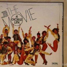 Discos de vinilo: A CHORUS LINE - ORIGINAL MOTION PICTURE SOUNDTRACK- LP 1985 CASABLANCA SPAIN. Lote 57538142