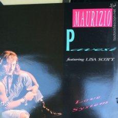 Discos de vinilo: MAURIZIO PAVESI-LOVE SYSTEM-MAXI. Lote 57540035