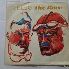 Discos de vinilo: YELLO - THE RACE / ANOTHER RACE (1988). Lote 57541238