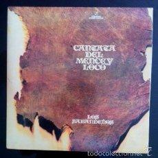 Discos de vinilo: LOS SABANDEÑOS - CANTATA DEL MENCEY LOCO . Lote 57542259