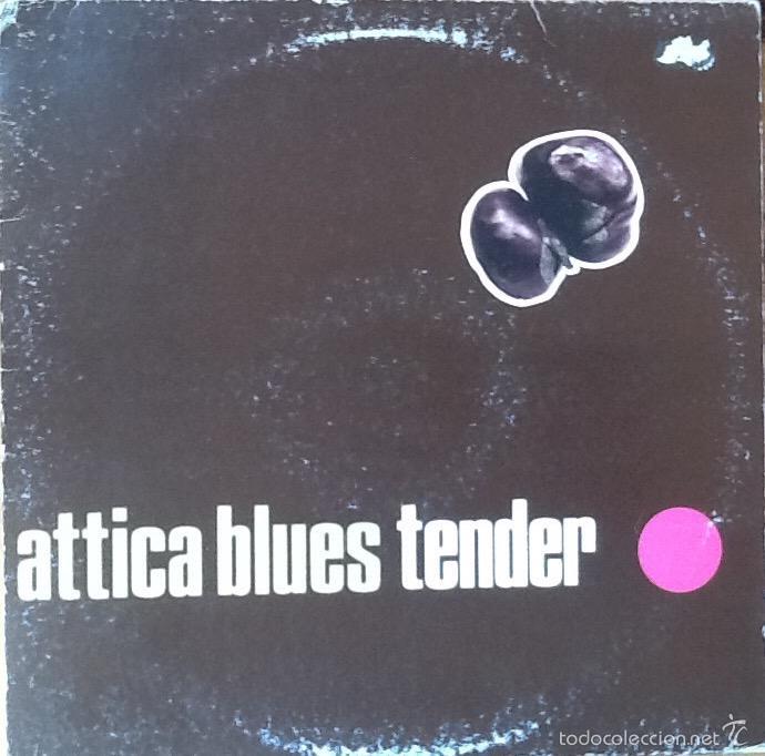 ATTICA BLUES : TENDER [UK 1997] EP 12' (Música - Discos de Vinilo - Maxi Singles - Electrónica, Avantgarde y Experimental)
