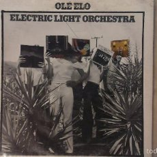 Discos de vinilo: ELECTRIC LIGHT ORCHESTRA ,ELO -OLÉ ELO- LP 1976 UNITED ARTISTS RECORDS USA. Lote 57543581
