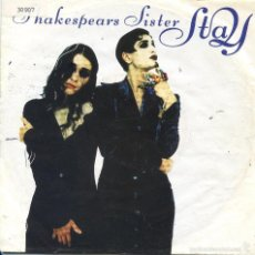 Discos de vinilo: SHAKESPEARS SISTER / STAY / THE TROUBLE WITH ANDRE (SINGLE 1991). Lote 57544604
