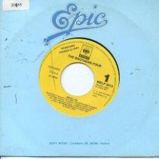 Discos de vinilo: THE BROTHERS FOUR / MEDLEY (SINGLE PROMO 1991). Lote 57544874