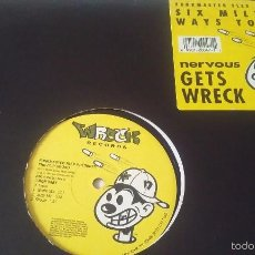 Discos de vinilo: FUNKMASTER FLEX PRESENTS THE FLIP SQUAD - C'MON BABY / BUTTERFLY STYLE - 1993. Lote 57545257