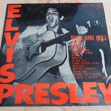 Discos de vinilo: ELVIS PRESLEY - ROCK AND ROLL - LP RCA LABEL NEGRO 1968. Lote 57547348