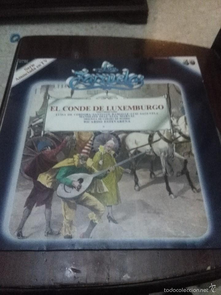 LA ZARZUELA EL CONDE DE LUXEMBURGO. C2V (Música - Discos - LP Vinilo - Clásica, Ópera, Zarzuela y Marchas)